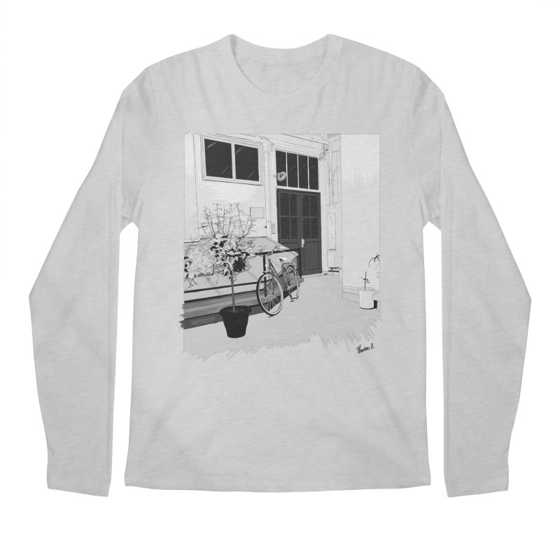 cour interieur Men's Longsleeve T-Shirt by ROCK ARTWORK | T-shirts & apparels