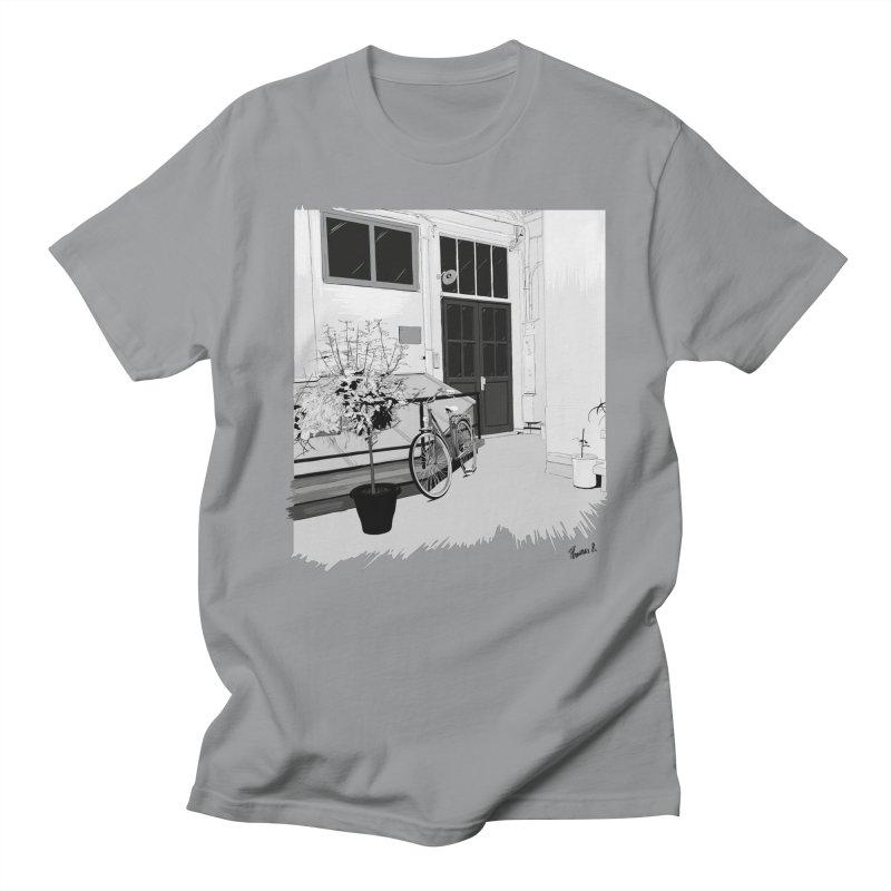 cour interieur Women's Regular Unisex T-Shirt by ROCK ARTWORK | T-shirts & apparels