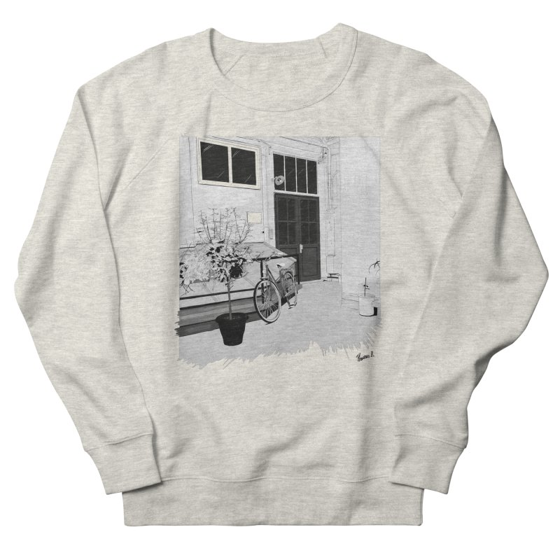 cour interieur Women's French Terry Sweatshirt by ROCK ARTWORK | T-shirts & apparels