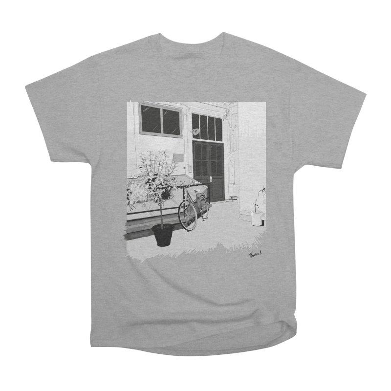 cour interieur Men's Heavyweight T-Shirt by ROCK ARTWORK | T-shirts & apparels