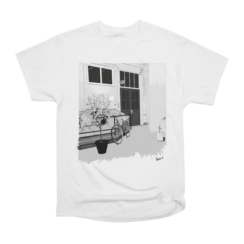 cour interieur Women's Heavyweight Unisex T-Shirt by ROCK ARTWORK | T-shirts & apparels