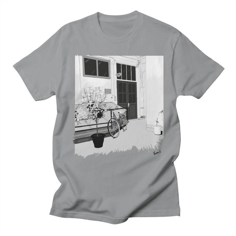 cour interieur Women's Regular Unisex T-Shirt by ROCK ARTWORK   T-shirts & apparels