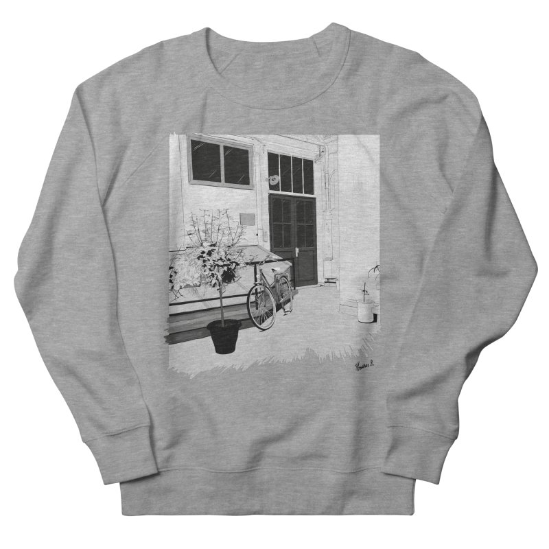 cour interieur in Women's French Terry Sweatshirt Heather Graphite by ROCK ARTWORK | T-shirts & apparels