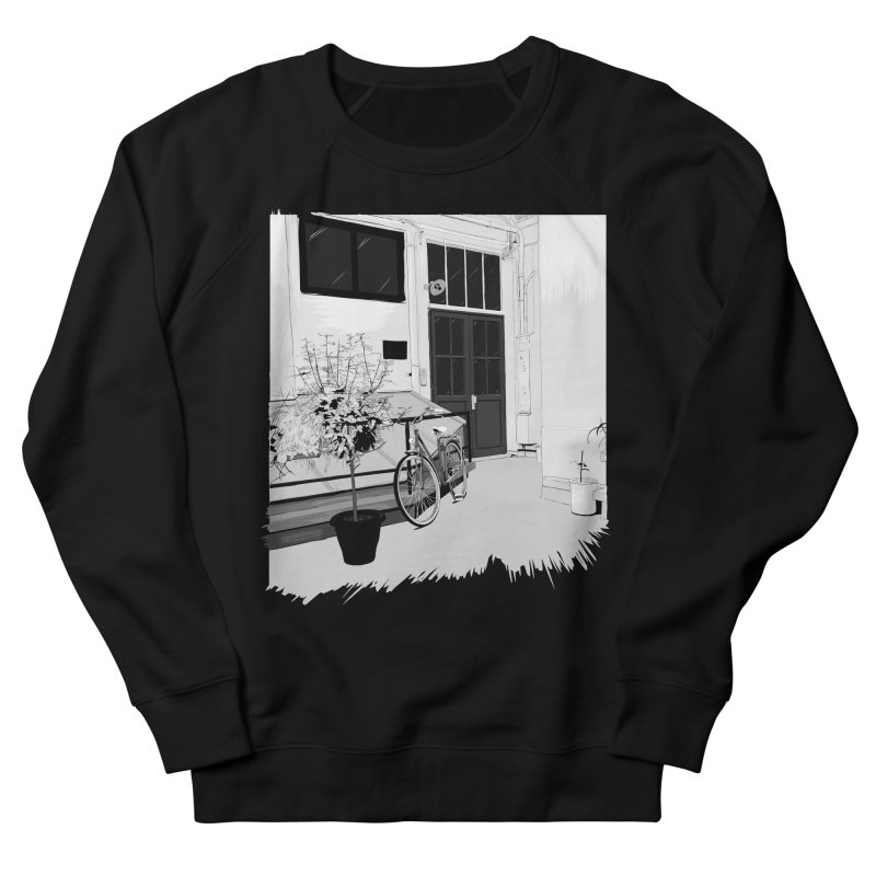 cour interieur Men's French Terry Sweatshirt by ROCK ARTWORK | T-shirts & apparels