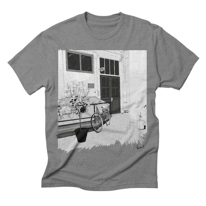 cour interieur Men's Triblend T-shirt by ROCK ARTWORK | T-shirts & apparels