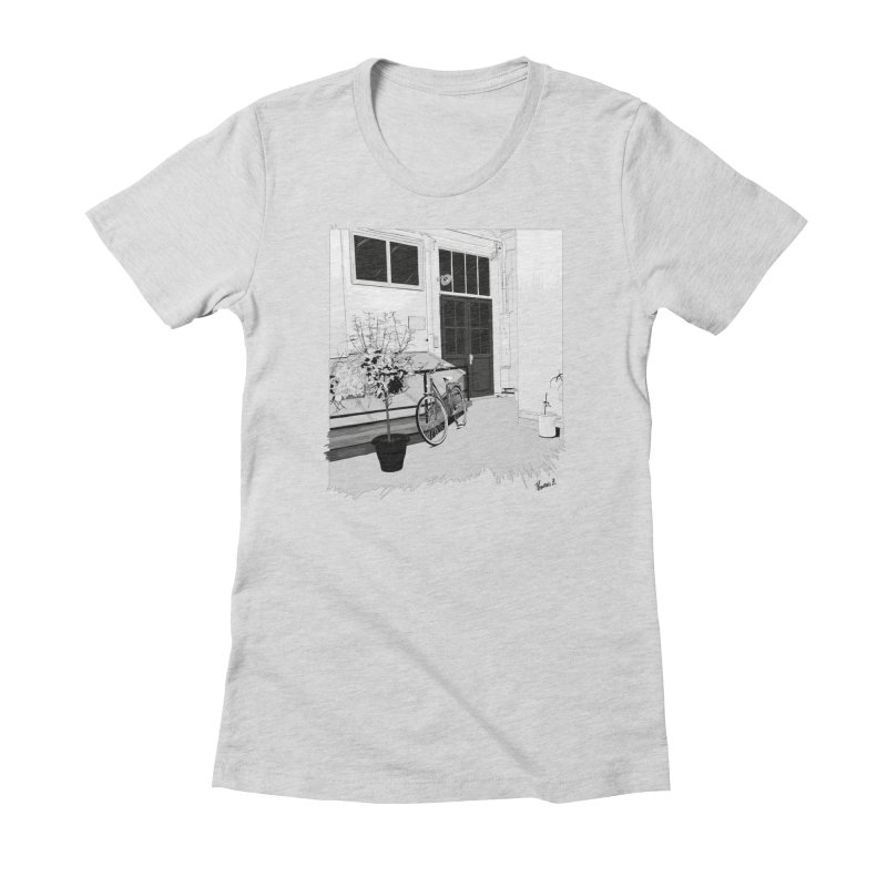 cour interieur Women's T-Shirt by ROCK ARTWORK | T-shirts & apparels