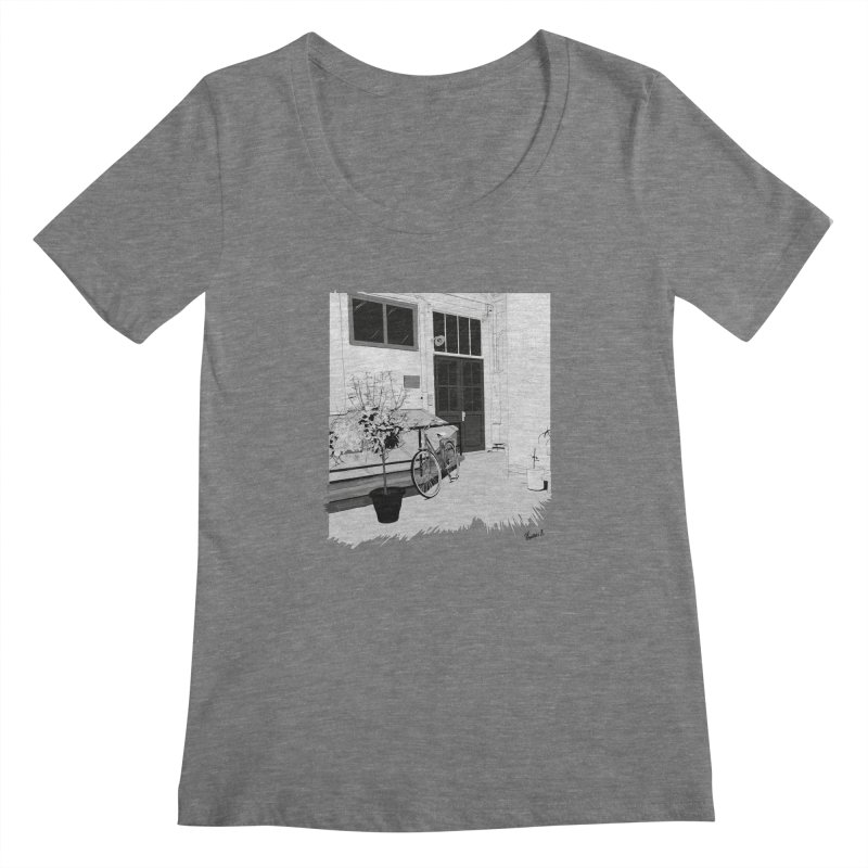 cour interieur Women's Scoopneck by ROCK ARTWORK | T-shirts & apparels