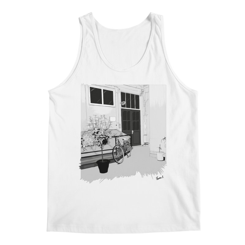 cour interieur Men's Regular Tank by ROCK ARTWORK | T-shirts & apparels