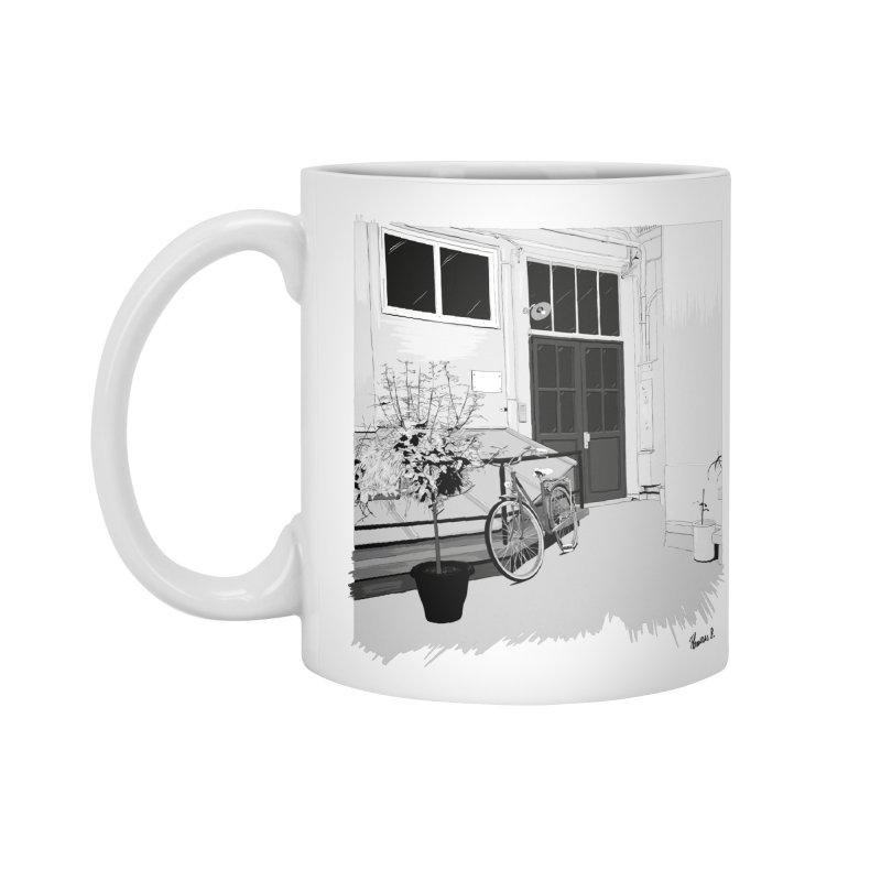 cour interieur Accessories Mug by ROCK ARTWORK | T-shirts & apparels