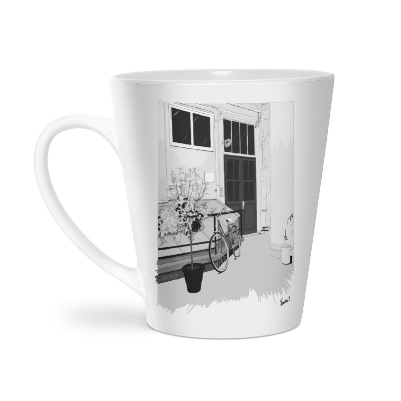 cour interieur Accessories Latte Mug by ROCK ARTWORK | T-shirts & apparels