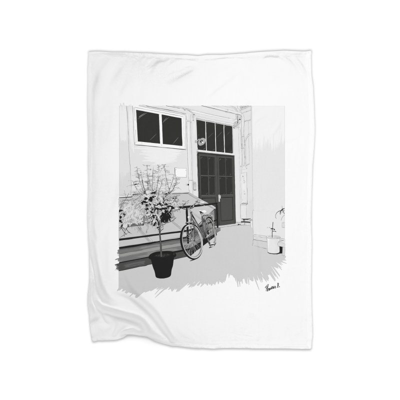 cour interieur Home Blanket by ROCK ARTWORK | T-shirts & apparels