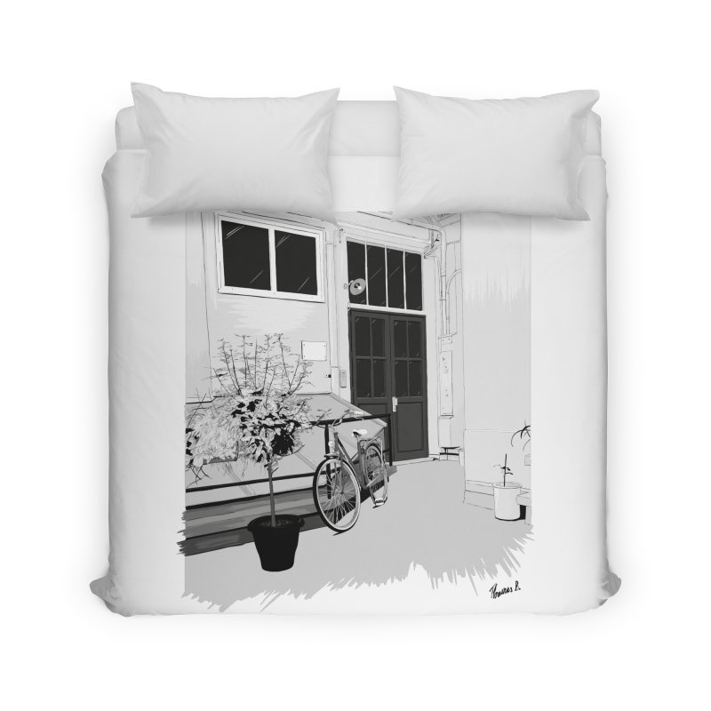 cour interieur Home Duvet by ROCK ARTWORK | T-shirts & apparels