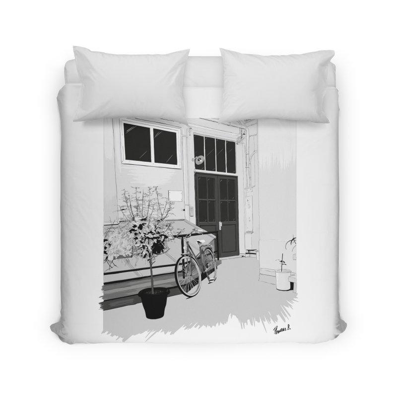 cour interieur Home Duvet by ROCK ARTWORK | T-shirts & apparels