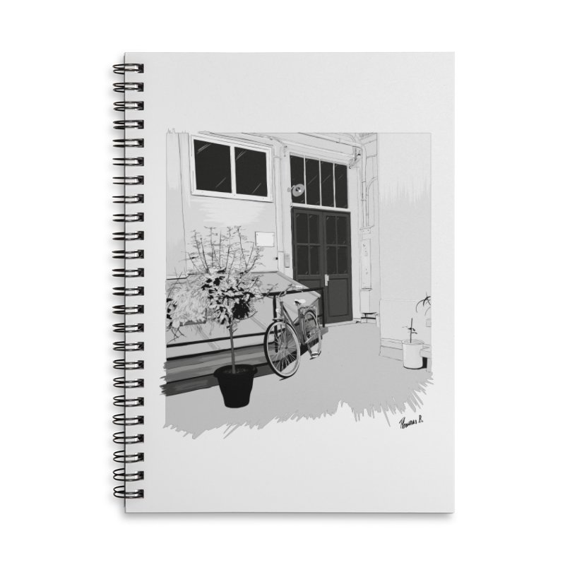 cour interieur Accessories Lined Spiral Notebook by ROCK ARTWORK | T-shirts & apparels