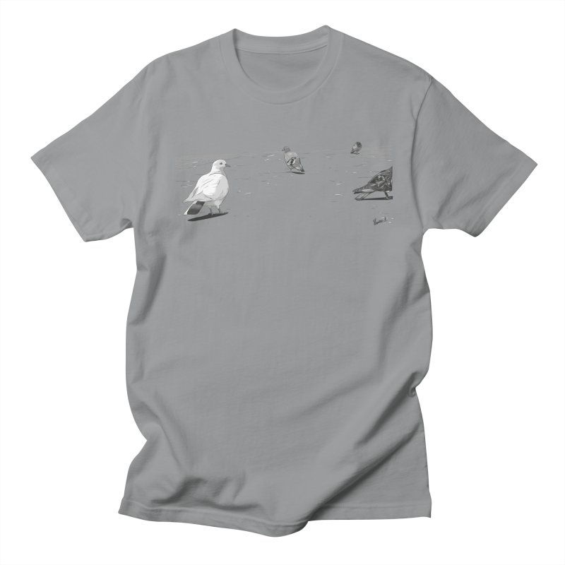Pigeons parisiens Women's Regular Unisex T-Shirt by ROCK ARTWORK   T-shirts & apparels