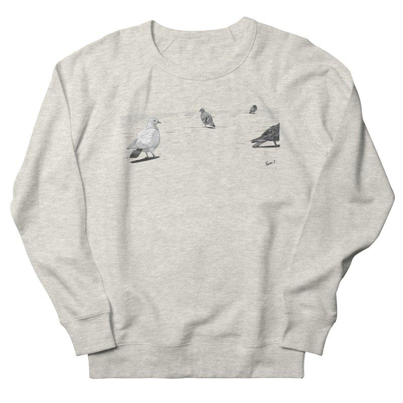 Pigeons parisiens Women's French Terry Sweatshirt by ROCK ARTWORK | T-shirts & apparels