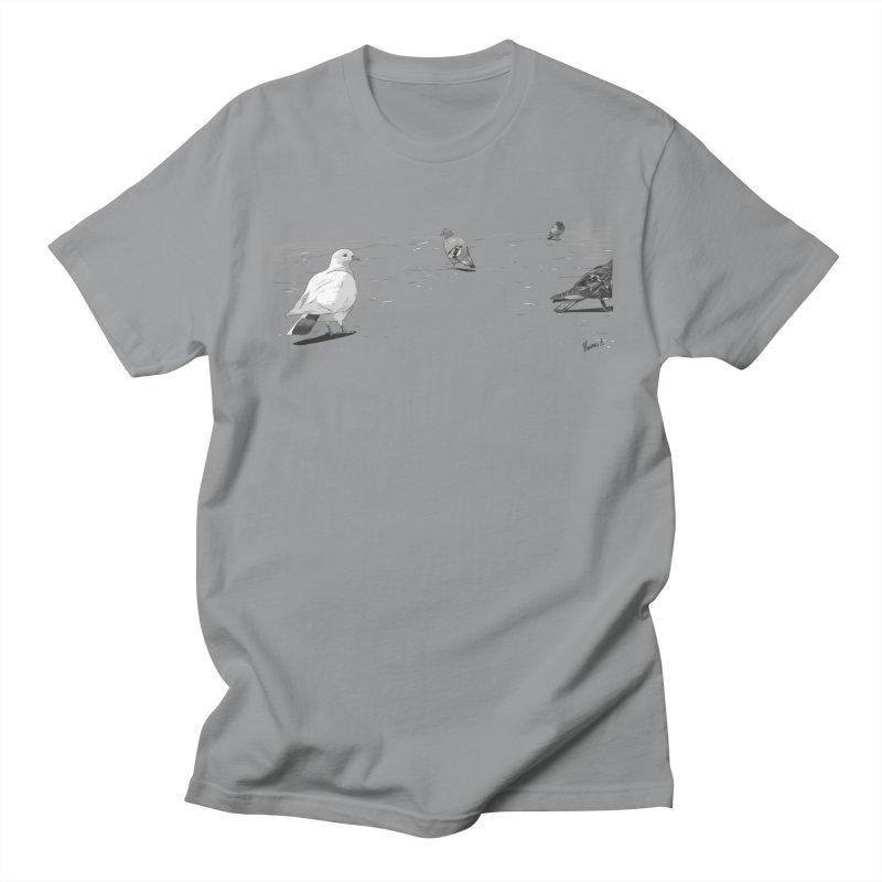 Pigeons parisiens Women's Regular Unisex T-Shirt by ROCK ARTWORK | T-shirts & apparels