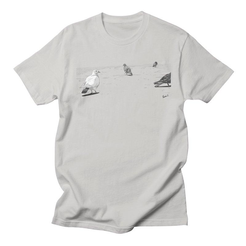 Pigeons parisiens Women's Unisex T-Shirt by ROCK ARTWORK | T-shirts & apparels