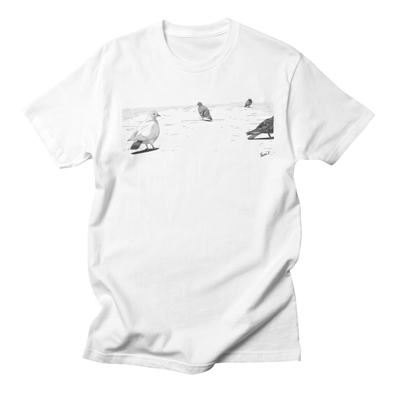 Pigeons parisiens Women's Regular Unisex T-Shirt by ROCK ARTWORK | T-shirts & apparels
