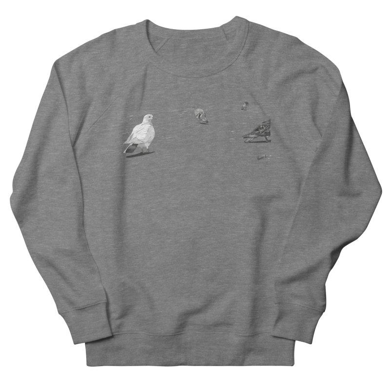 Pigeons parisiens Men's French Terry Sweatshirt by ROCK ARTWORK | T-shirts & apparels
