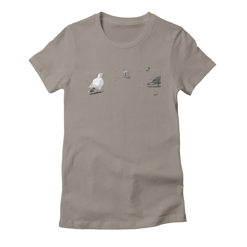 Pigeons parisiens Women's T-Shirt by ROCK ARTWORK | T-shirts & apparels
