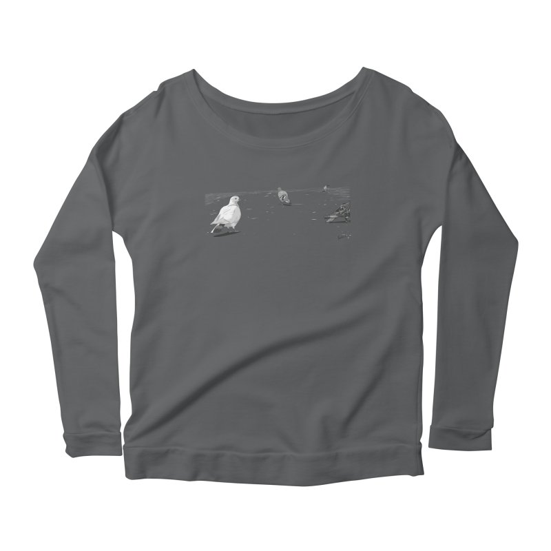 Pigeons parisiens Women's Longsleeve T-Shirt by ROCK ARTWORK | T-shirts & apparels