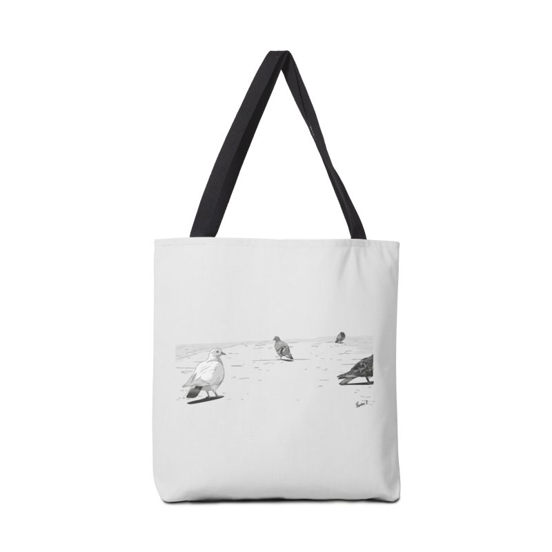 Pigeons parisiens Accessories Tote Bag Bag by ROCK ARTWORK | T-shirts & apparels