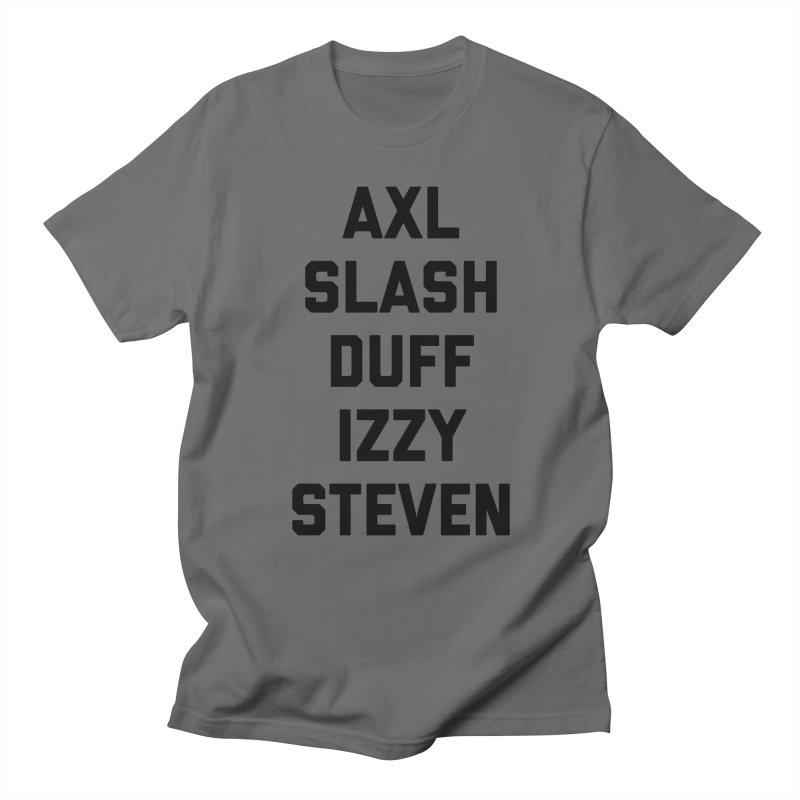 Guns N Roses Men's T-Shirt by Rock Confidential Apparel