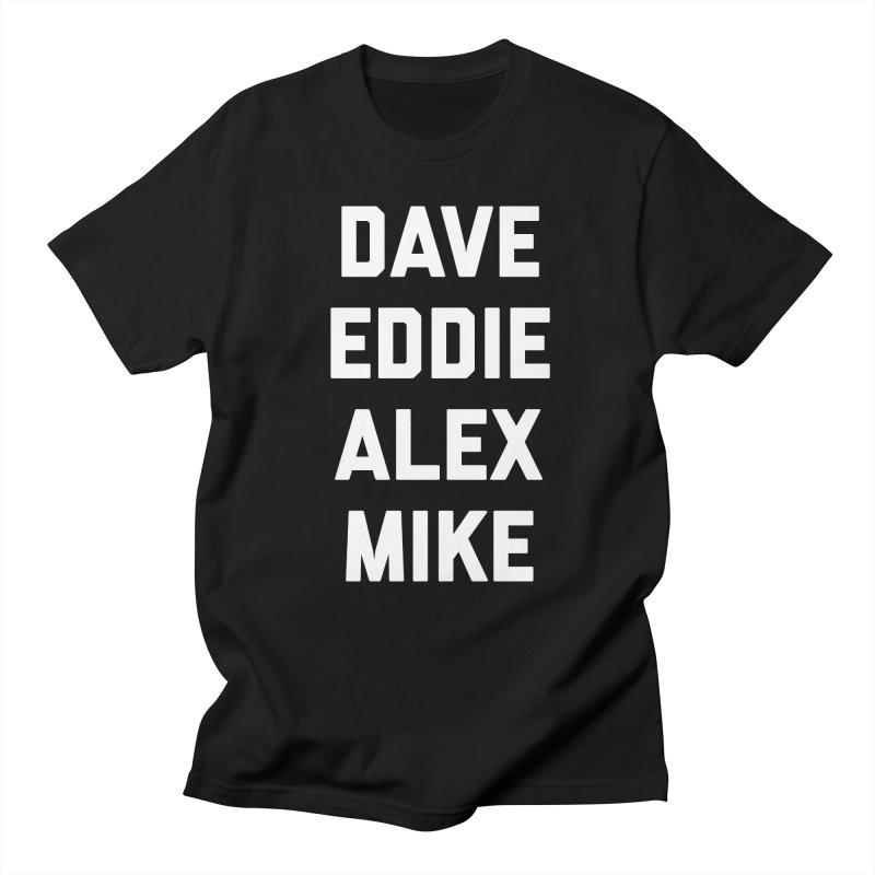 Van Halen Classic B/W Men's T-Shirt by Rock Confidential Apparel