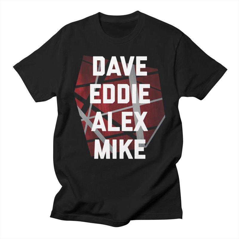 Van Halen Icon Men's T-Shirt by Rock Confidential Apparel