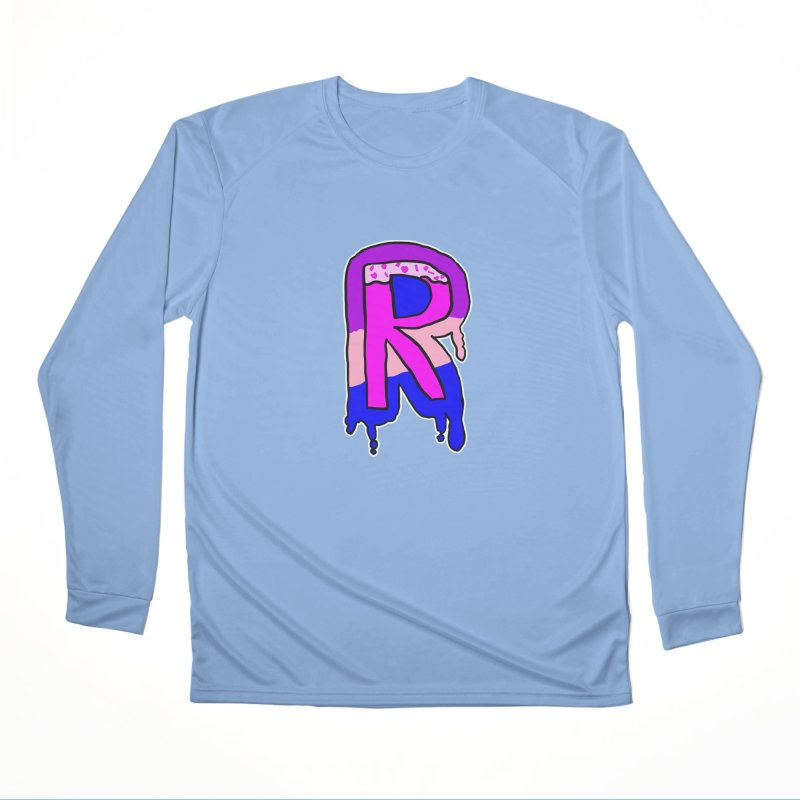 Rozzy Donut Drip Men's Longsleeve T-Shirt by RockerByeDestash Market