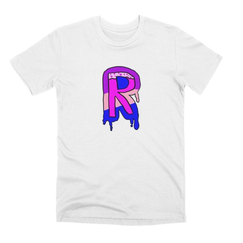 Rozzy Donut Drip Men's T-Shirt by RockerByeDestash Market