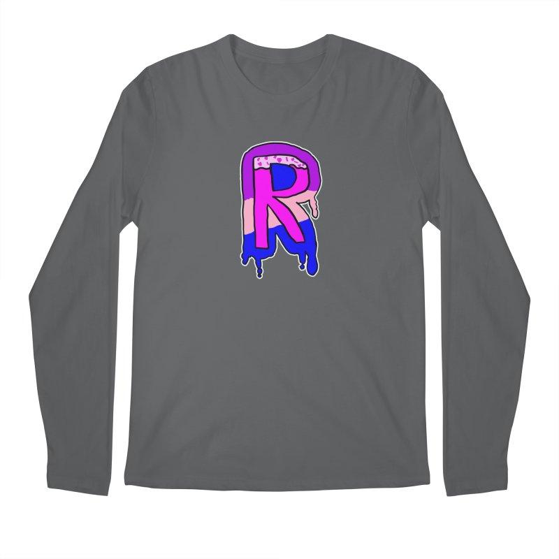 Rozzy Donut Drip Men's Longsleeve T-Shirt by RockerByeDestash Market