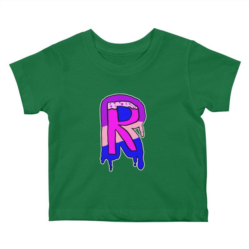 Rozzy Donut Drip Kids Baby T-Shirt by RockerByeDestash Market