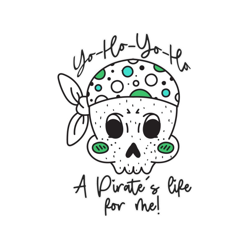 Pirate's Life for me Kids Toddler Longsleeve T-Shirt by RockerByeDestash Market