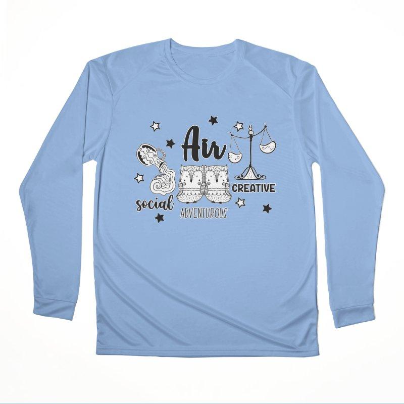 Air - Element Horoscope Men's Longsleeve T-Shirt by RockerByeDestash Market