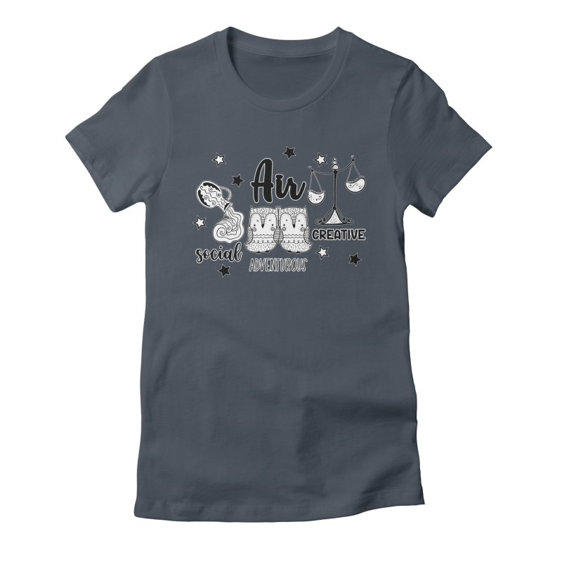 Air - Element Horoscope Women's T-Shirt by RockerByeDestash Market