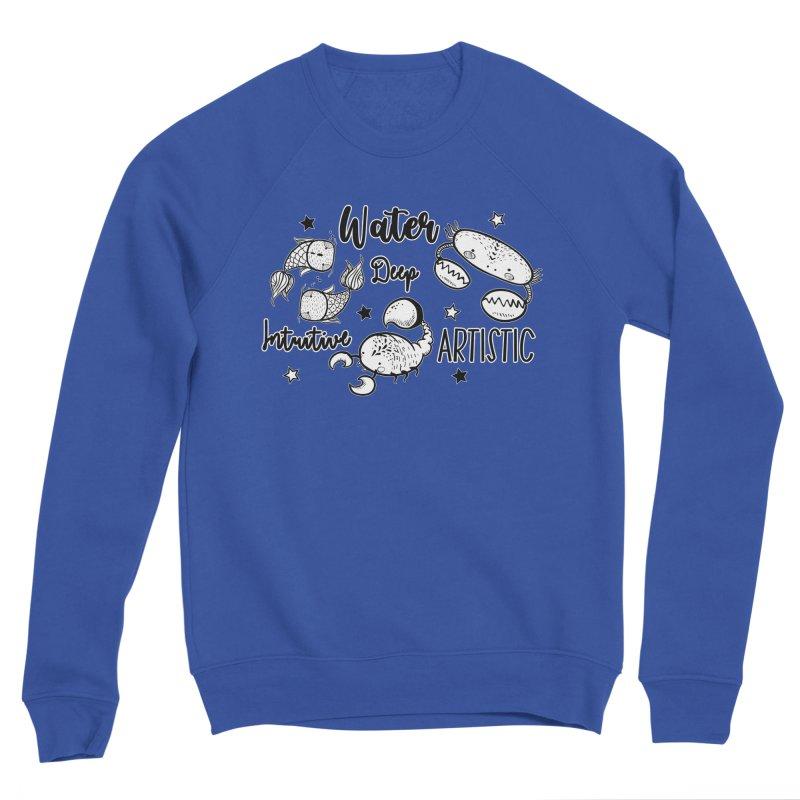 Water sign - Zodiac Horoscope Men's Sweatshirt by RockerByeDestash Market