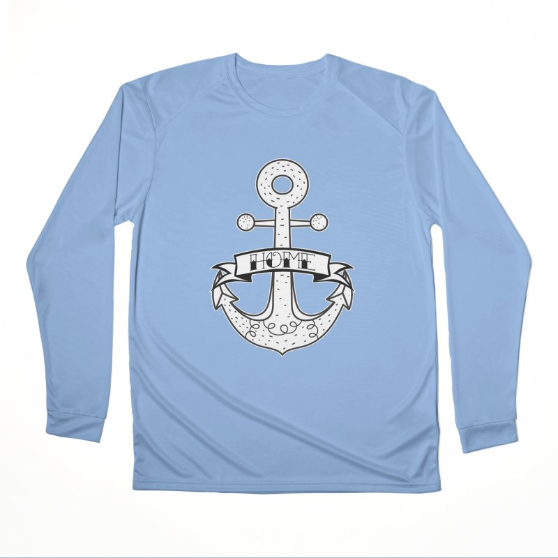Anchor Home Men's Longsleeve T-Shirt by RockerByeDestash Market