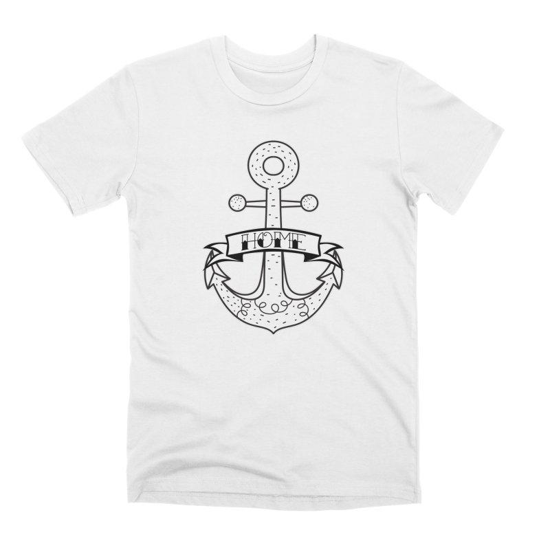 Anchor Home Men's T-Shirt by RockerByeDestash Market