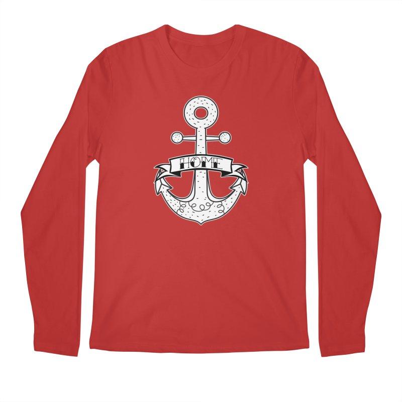 Anchor Home Men's Longsleeve T-Shirt by RockerByeDestash Market