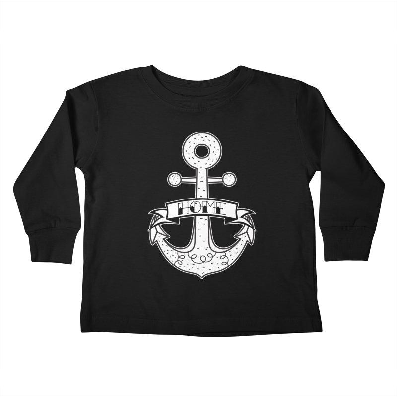 Anchor Home Kids Toddler Longsleeve T-Shirt by RockerByeDestash Market