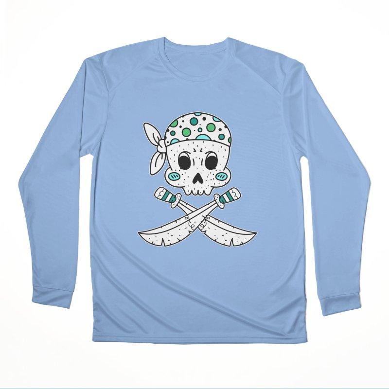 Skull Pirate Men's Longsleeve T-Shirt by RockerByeDestash Market