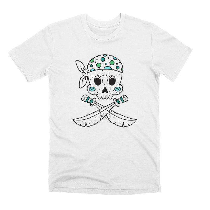Skull Pirate Men's T-Shirt by RockerByeDestash Market