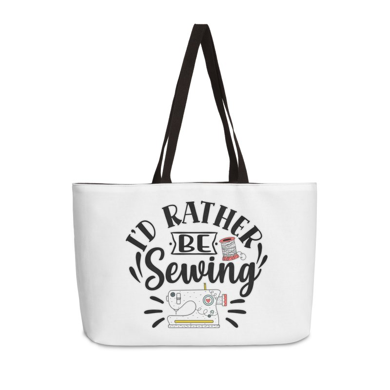 Id Rather be Sewing Accessories Bag by RockerByeDestash Market