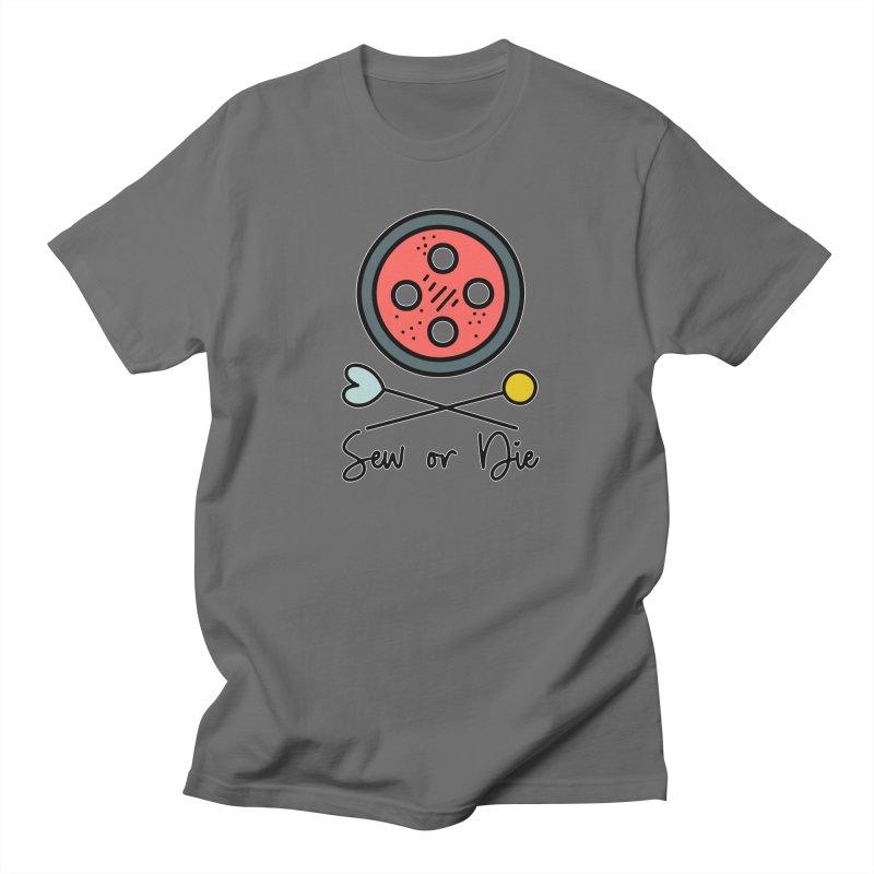 Sew or die #2 Men's T-Shirt by RockerByeDestash Market