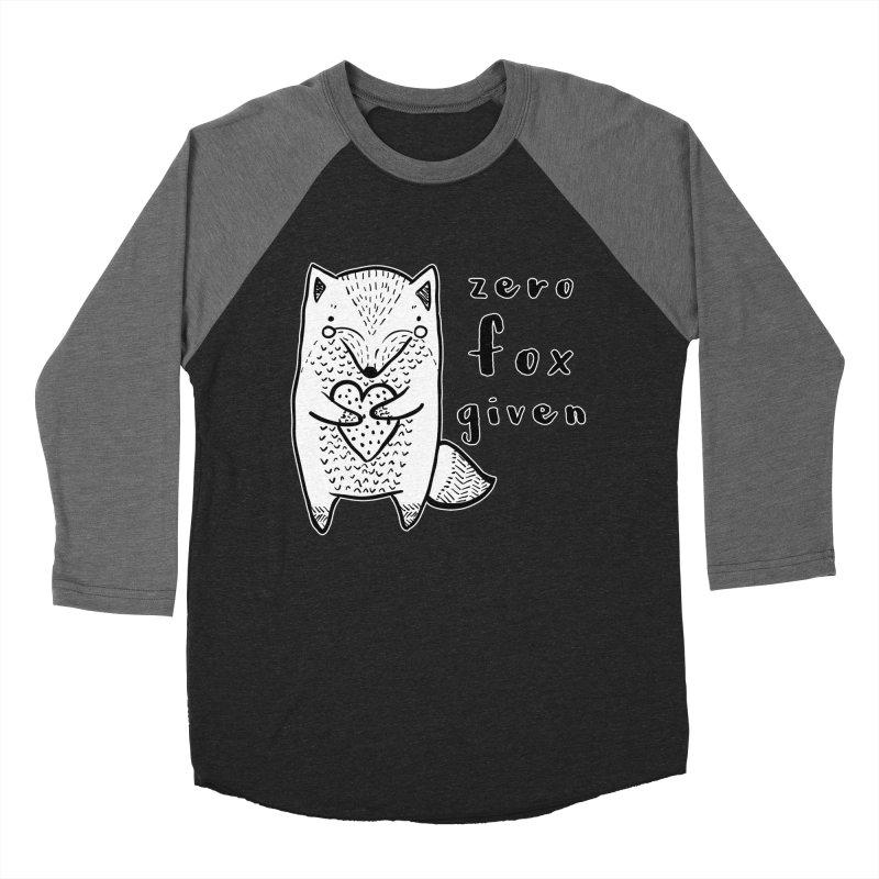 Zero Fox Given Women's Baseball Triblend Longsleeve T-Shirt by RockerByeDestash Market