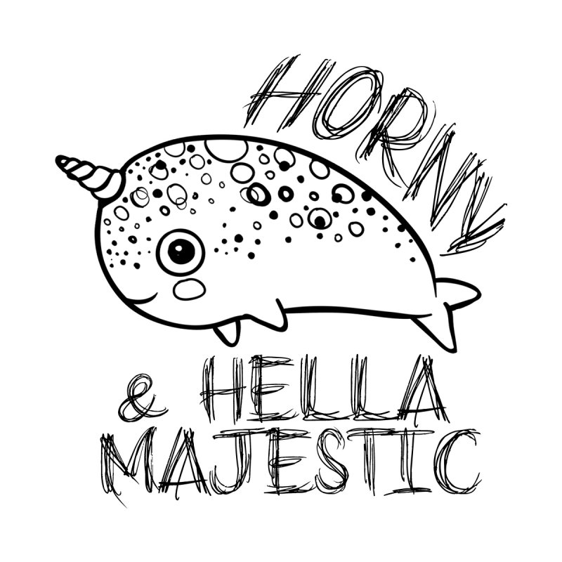 Hella Majestic Women's Longsleeve T-Shirt by RockerByeDestash Market