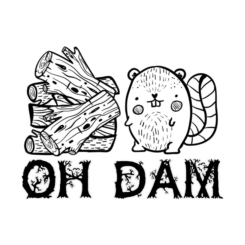 Oh Dam Women's V-Neck by RockerByeDestash Market