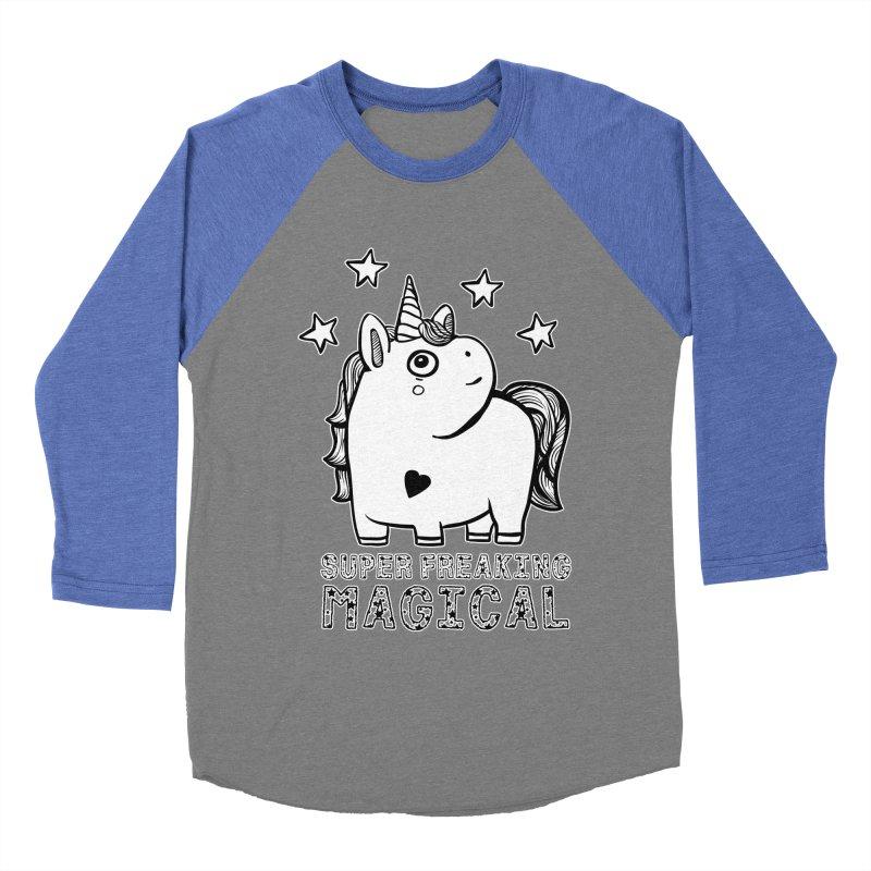 Freaking Magical Women's Baseball Triblend Longsleeve T-Shirt by RockerByeDestash Market
